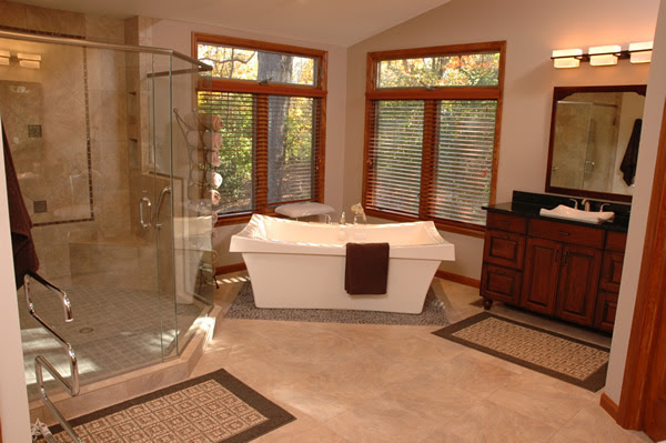 4 Design Ideas for a Luxury Master Bathroom Spa