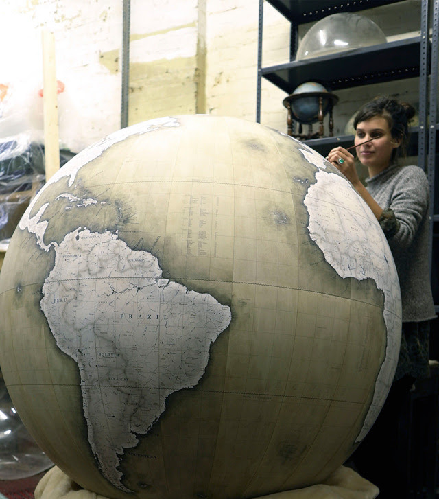 The Globemaker, Short Film About a London Company That Makes Handcrafted Globes