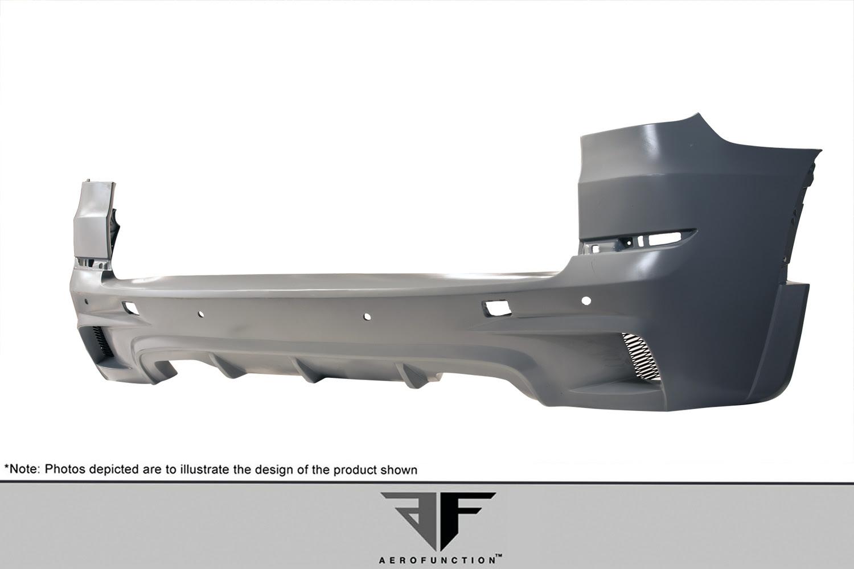 Extreme Dimensions 2007 2013 Bmw X5 E70 Af 1 Rear Bumper Cover Pur