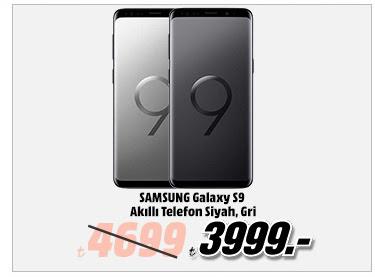 SAMSUNG GAlaxy S9 Akıllı Telefon Siyah, Gri 3999TL