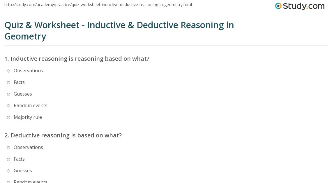 additionally  in addition Deductive Reasoning Worksheets Gallery Worksheet For Kids Year 1 In together with Deductive Reasoning Worksheets 4th Grade  Free Deductive Reasoning together with Inductive And Deductive Reasoning Worksheets in addition Inductive and Deductive Reasoning Practice   Hatboro Horsham moreover Unit 2  Chapter 2   Reasoning and Proof   Catrine's Mathies also  together with deductive reasoning essay deductive essay ex le twenty hueandi co furthermore Introduction to inductive and deductive reasoning further Introduction to inductive and deductive reasoning furthermore  as well Best Deductive Reasoning   ideas and images on Bing   Find what you likewise 2 2 Inductive and Deductive Reasoning further Inductive And Deductive Reasoning Geometry Worksheets as well Inductive Vs Deductive Teaching. on inductive and deductive reasoning worksheet