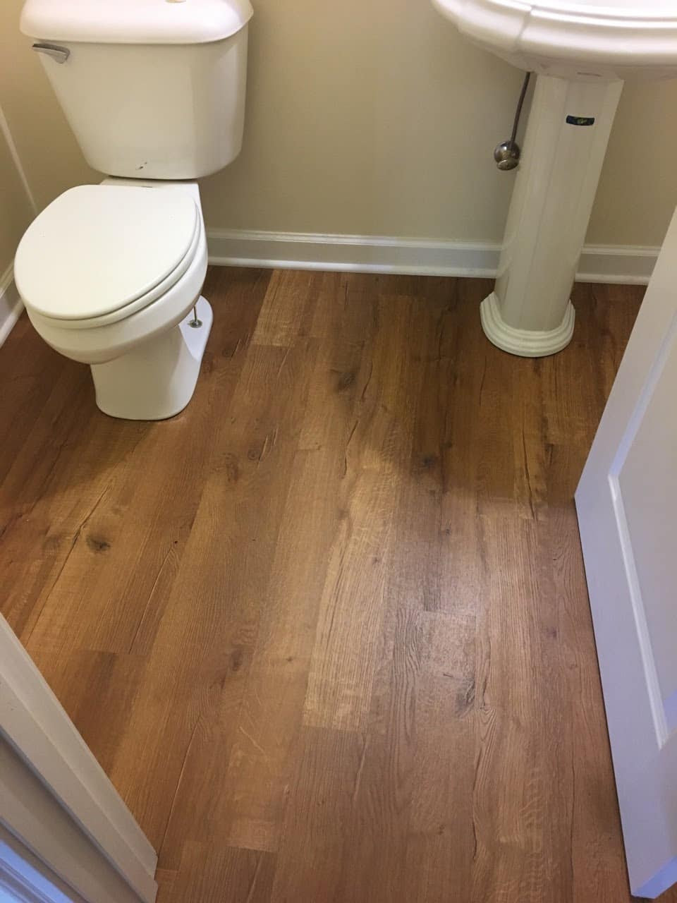 Laminate Flooring For Bathroom Homeimprovement