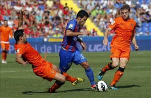 Martins rescata al Levante en su debut. EFE