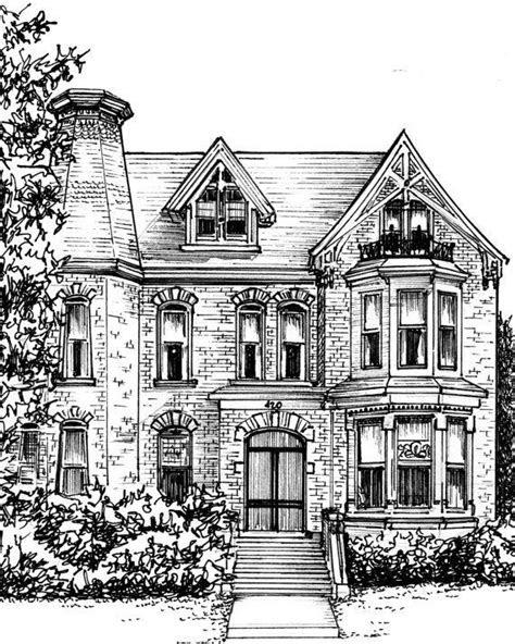 ideas  house sketch  pinterest simple house