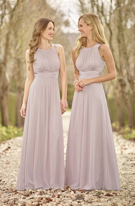 Halter Chiffon bridesmaid dresses, Cheap bridesmaid