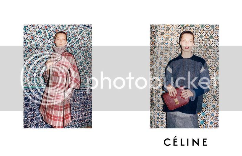 Celine fall winter 2013 campaign