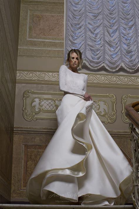 Two piece wedding dress, Ball gown wedding dress   Anna