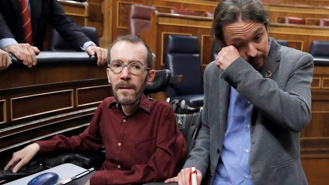 Pablo Iglesias rompe a llorar tras la investidura de Sánchez
