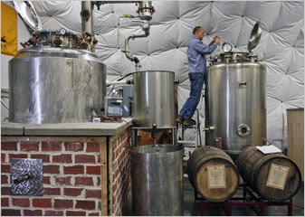 New Stills Quench a Thirst for Local Spirits