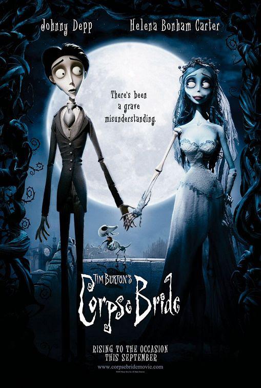 Afbeeldingsresultaat voor corpse bride poster
