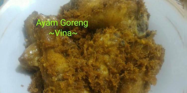 Resep Ayam Goreng Ala Rm. Padang Oleh Hervina Herman