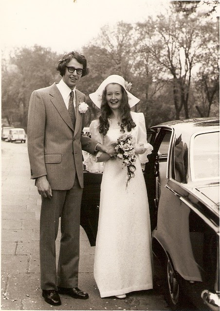 Bill and Kathy, c1976