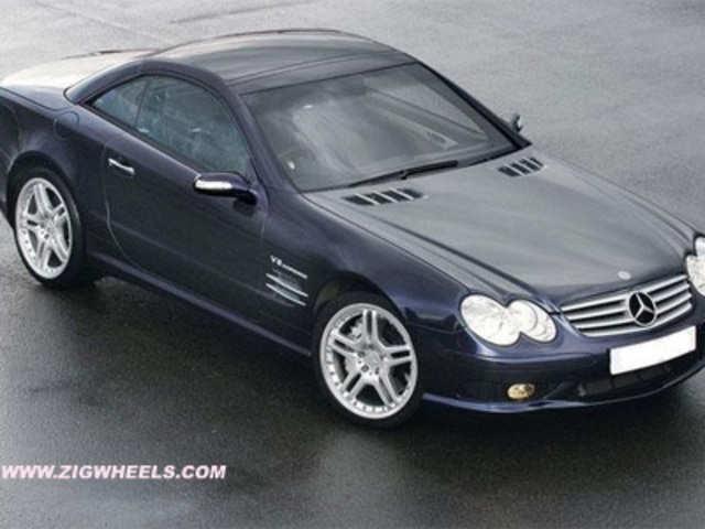 Steve Jobs' car Mercedes Benz SL55 AMG did not sport ...