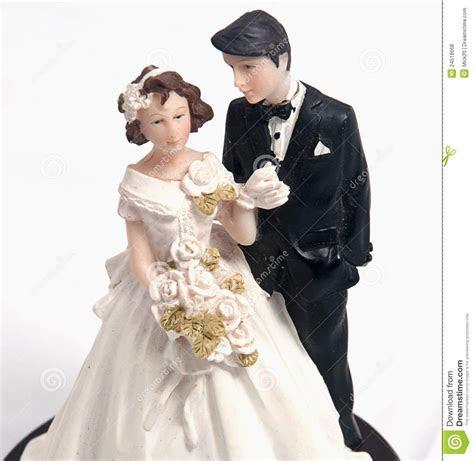 Wedding Cake Dolls Royalty Free Stock Photos   Image: 24518668