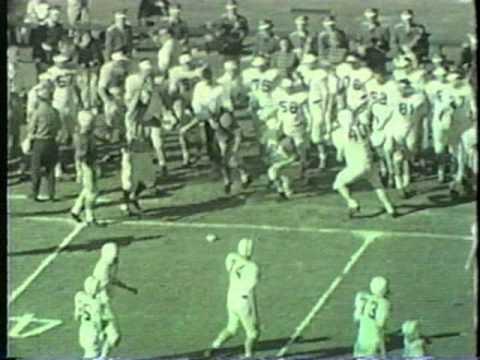 National Championship - OU vs Maryland  - 1955 Orange Bowl