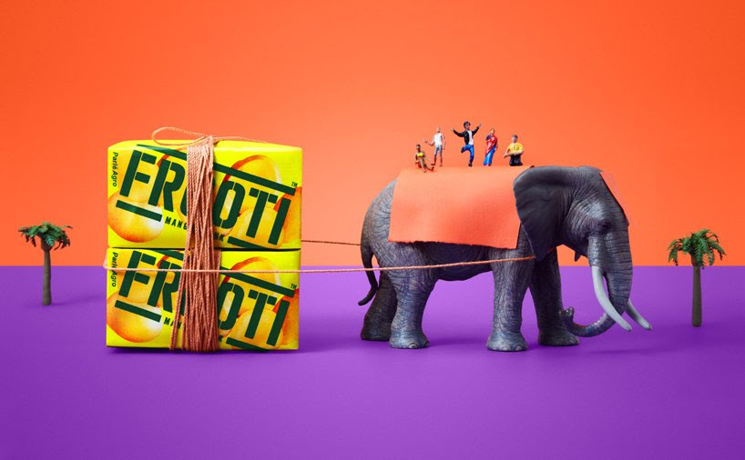 sagmeister & walsh refreshes frooti mango juice campaign with indian motifs