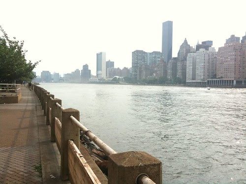 The East River and Manhattan's West Side