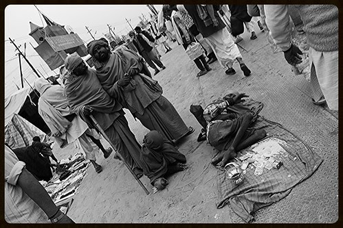 The Beggars At Maha Kumbh Allahabad by firoze shakir photographerno1