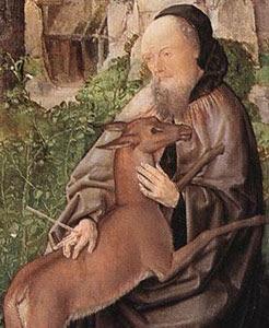 ST GILES  Greek Christian Hermit