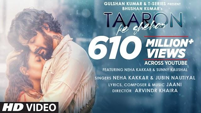 Chalo Le Chale Tumhe Taaron Ke Shehar Mein Lyrics In Hindi And English - Jubin Nautiyal,Neha Kakkar