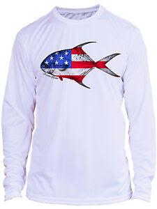 Download Microfiber Long Sleeve Fishing UPF 50 Permit Fly Fishing ...