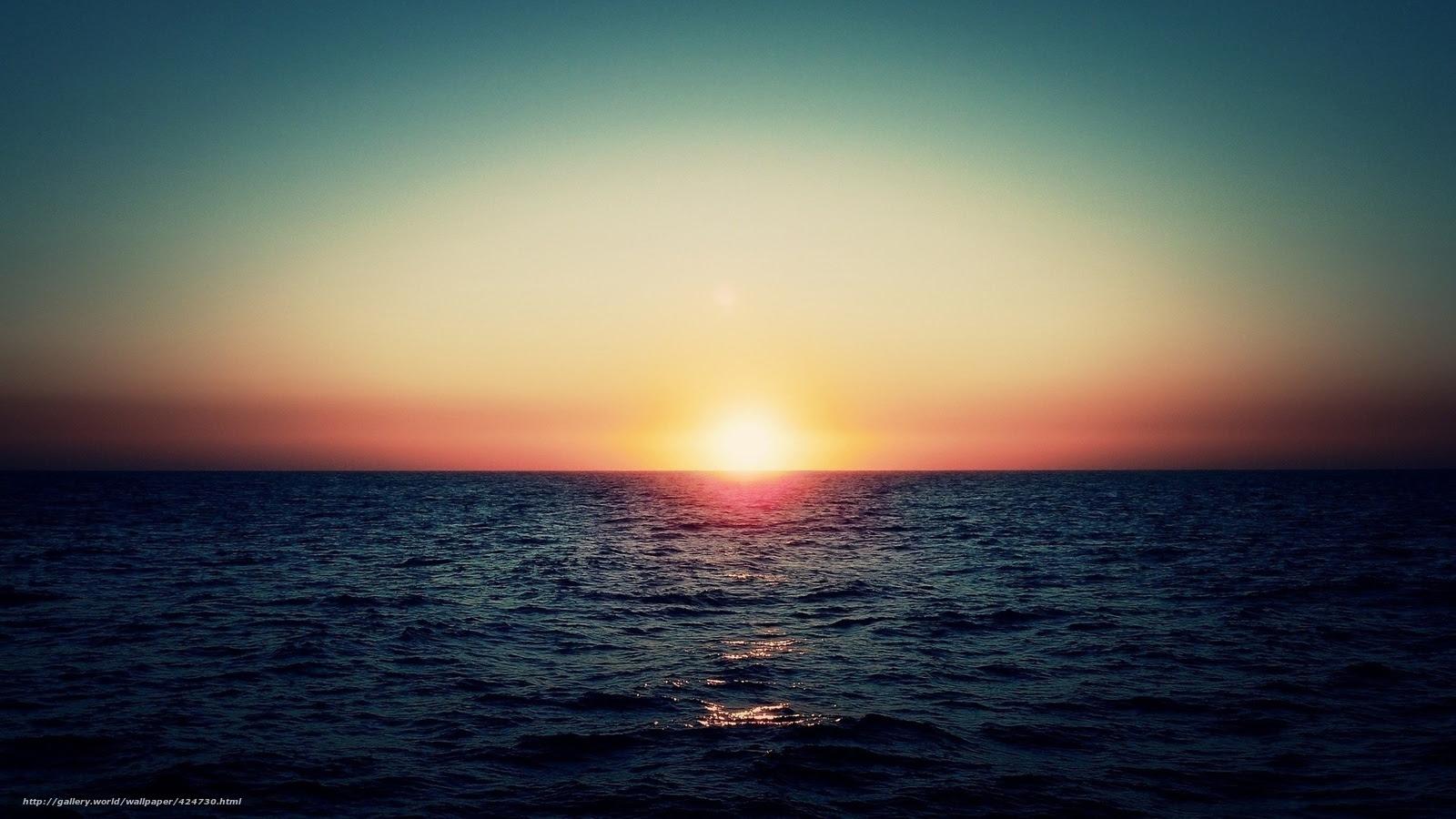 Download Wallpaper Sea Sun Sky Free Desktop Wallpaper In The