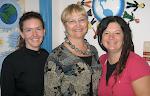 Raychelle, Donna & Heidi - authors