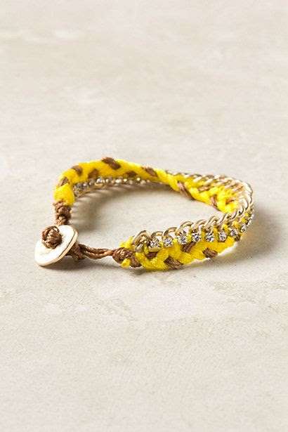 Braided Brights Bracelet - anthropologie.com