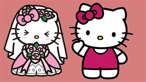 Hello Kitty games for girls. Wedding Hair Salon #