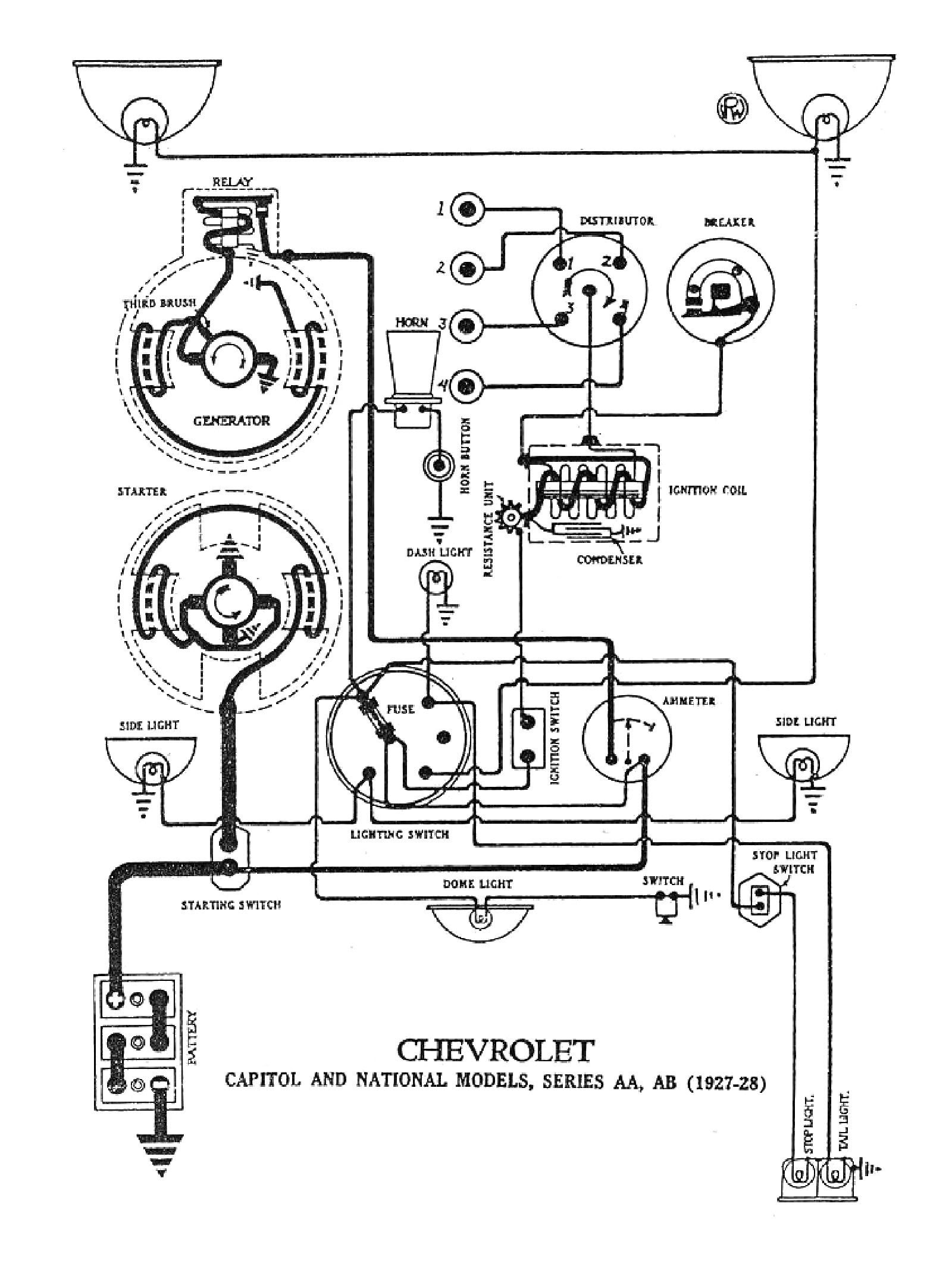 Ford Model T Wiring Diagram - Wiring Diagram | Tudor 1925 Ford Model T Wiring Diagram |  | Wiring Diagram