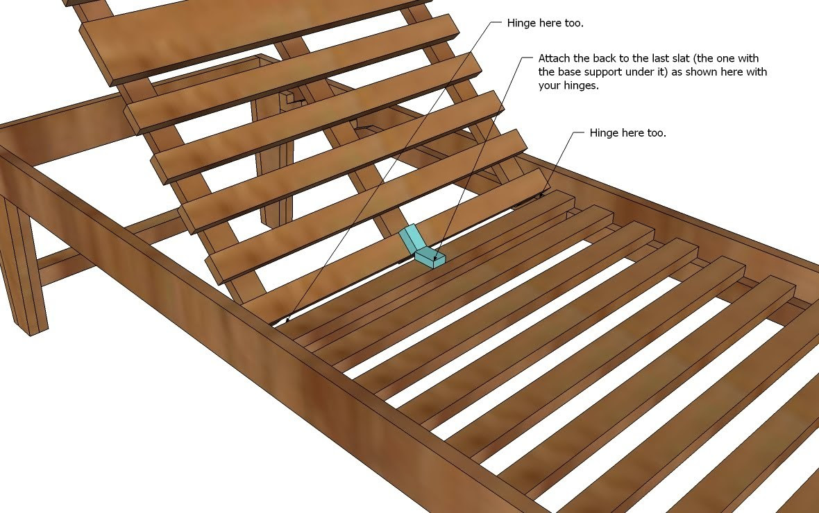 Ana White | Build a Outdoor Chaise Lounge | Free and Easy DIY ...