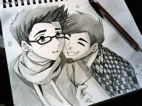 anime cute couple  artdean  deviantart