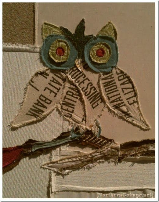 I LOVE this owl! He's so origional. What a hoot! LOL