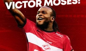 Spartak Moscow Show Off Victor Moses In Unveiling
