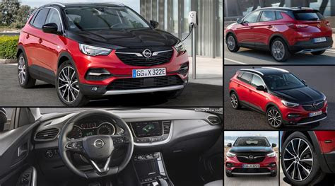 opel grandland  hybrid  pictures information