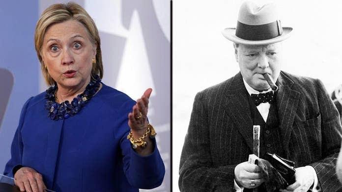 Risultati immagini per hillary Clinton churchill