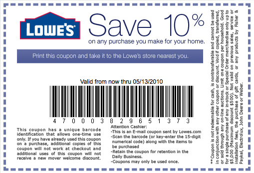 Lowes Printable Coupons For 2018 And Beyond Coupon Codes Blog