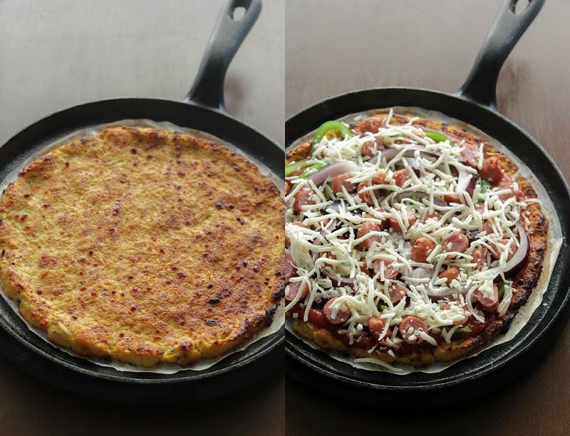 Cauli Rice Pizza