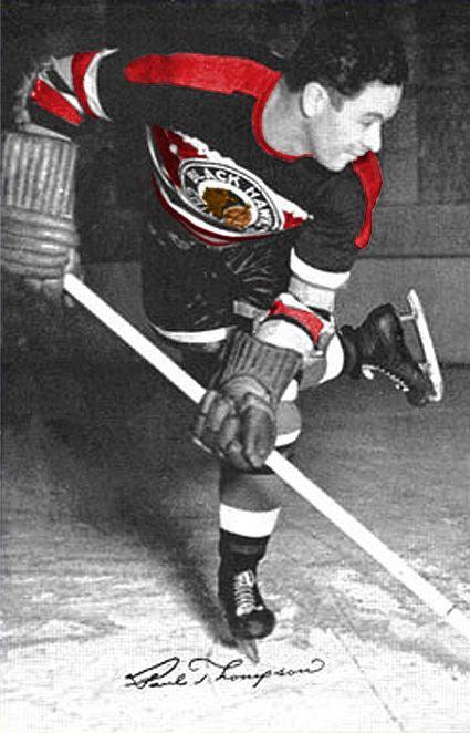 Paul Thompson Black Hawks