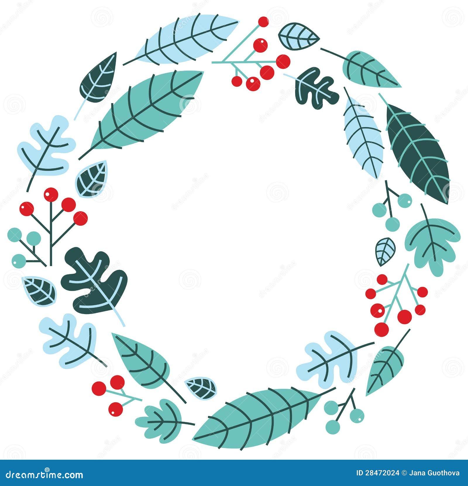 christmas retro holiday wreath 28472024