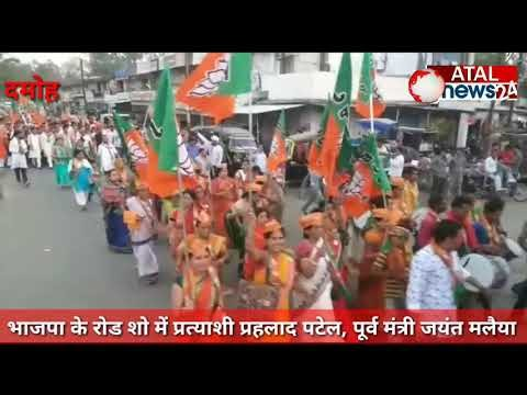 बाजार के दिन भाजपा ने रोड शो और कांग्रेस ने जनसंपर्क के जरिए.. जनता जनार्दन से मांगा चुनाव में विजय का आशीर्वाद..