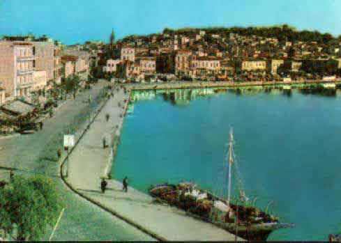 Αποψη της Κεντρικής Προκυμαίας της Μυτιλήνης.