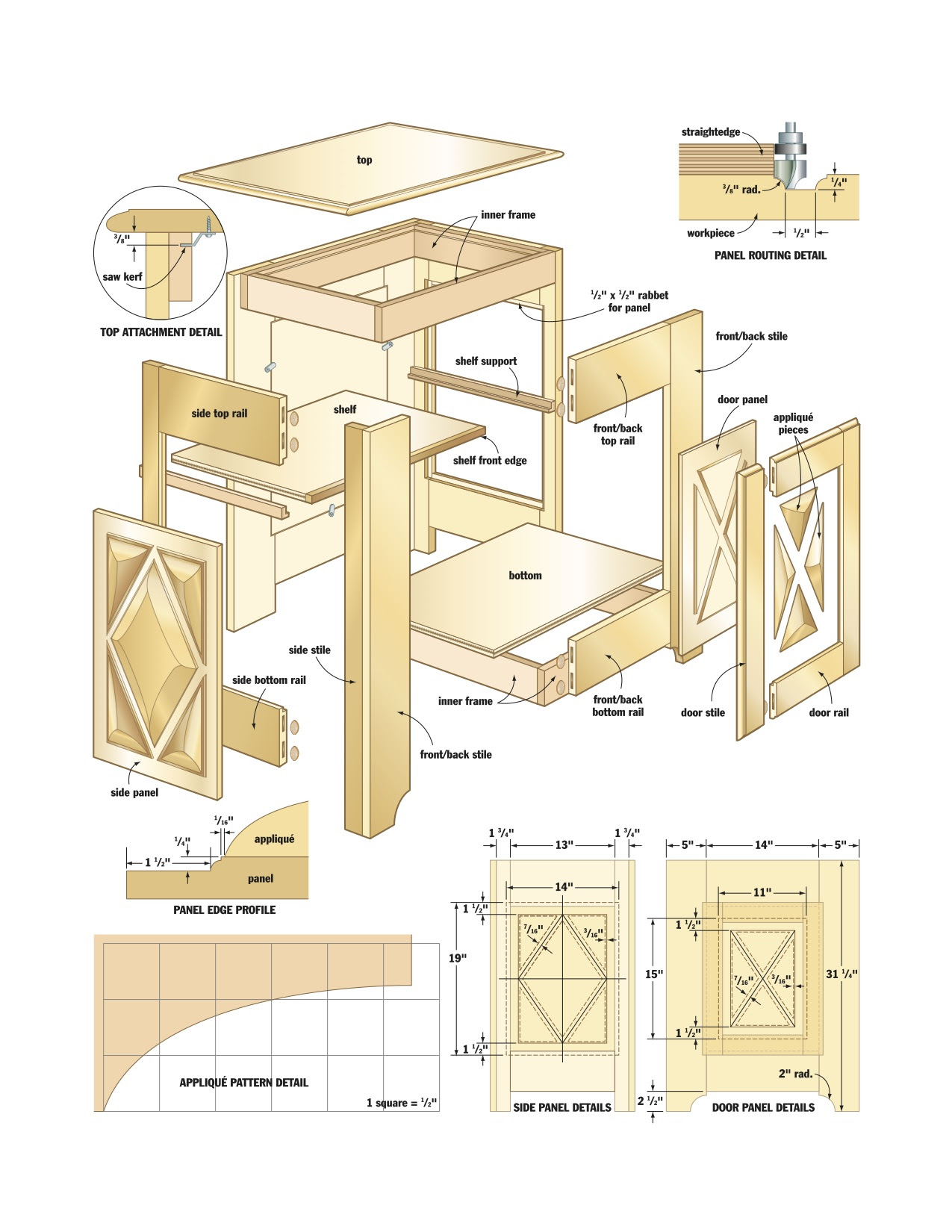Woodworking Plans For Hutch Diy Wood Projects For Gifts