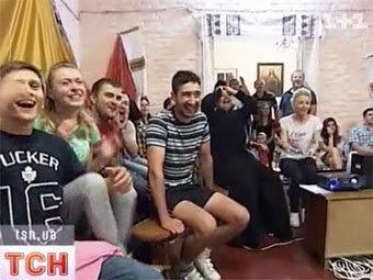 "Кадр телеканала ""1+1"""