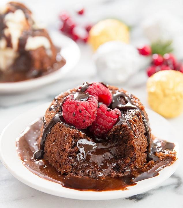 Molten Nutella Lava Cakes (4 Ingredients!) - Kirbie's Cravings