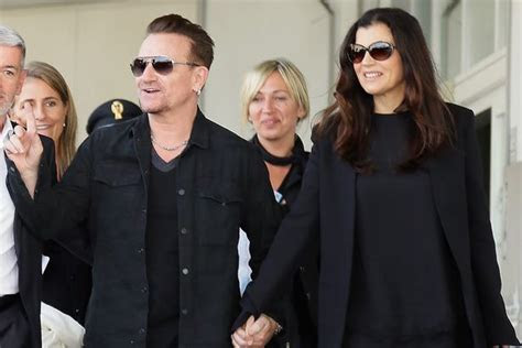U2 frontman Bono celebrates 36th wedding anniversary with