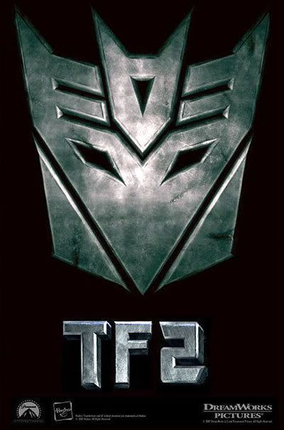 A fan-made poster for TRANSFORMERS 2.