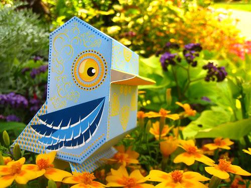 ptsf vinny 08 - Nani Bird custom _POP!_ by Paul Rackstraw