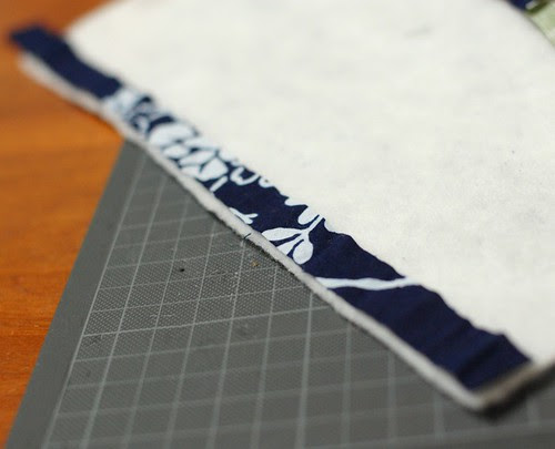 How to make a string quilt pouch 2