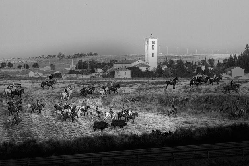 Primer premio del Concurso de Fotografía Fiestas de Cuéllar.